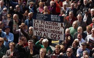 Los pensionistas vascos elevan su indignación y presionarán con dos manifestaciones en mayo