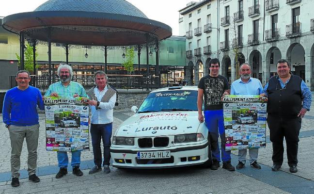 Sesenta pilotos tomarán la salida mañana en el Rallysprint de Azpeitia
