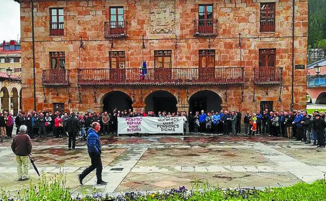 Jubilados y pensionistas saldrán en manifestación el próximo lunes