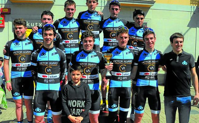 Los ciclistas astigartarras siguen demostrando su valía en diversas carreras
