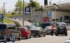 El aeropuerto de Loiu contará con mil plazas nuevas para acabar con la saturación del aparcamiento