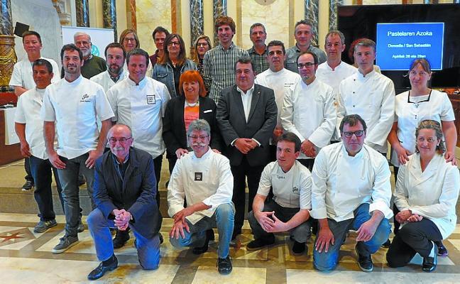 Una feria de pastelería endulzará Donostia el fin de semana que viene