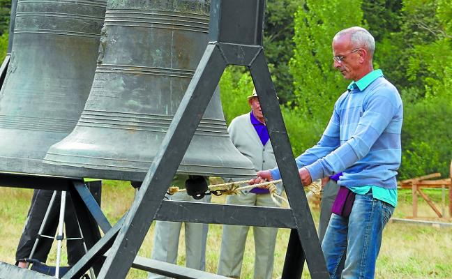 Las campanas de Arientza reivindican ser Patrimonio Inmaterial de la Humanidad