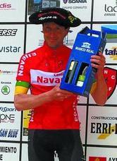 Iñigo Dorronsoro es el campeón de Navarra máster 40 de ciclismo
