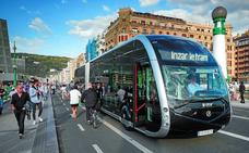 El transporte del futuro llega a Donostia