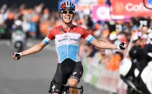 Jungels priva a Valverde de igualar a Merckx