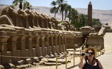 Descubren restos de un santuario del dios egipcio Osiris en el templo de Karnak