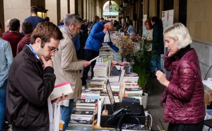 Las librerias se trasladan a la plaza Gipuzkoa