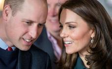 La duquesa de Cambridge llega al hospital para dar a luz