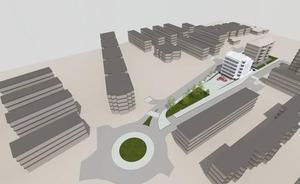 La gasolinera de Martutene será sustituida por un edificio de viviendas