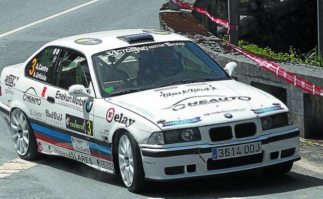 Cuarto título consecutivo para Aingeru Castro y Alaitz Urkiola en el Rallysprint de Azpeitia