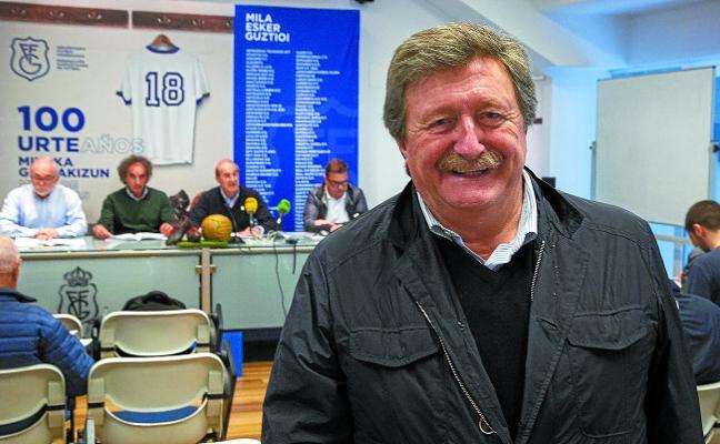 Juan Luis Larrea: «Queremos traer a Gipuzkoa lo mejor del fútbol europeo y mundial»