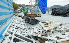 El Ayuntamiento actuará ante usos no autorizados de los trozos de barandilla de La Concha