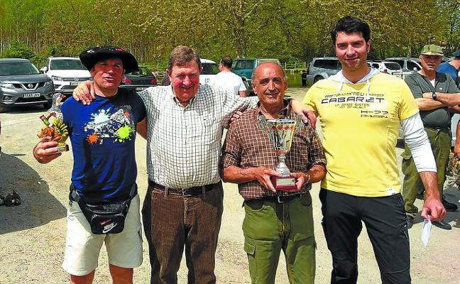 Joseba Iribekanpos, nuevo campeón local de caza menor con perro