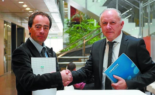 Edertek firma un acuerdo con la Escuela Politécnica de MU