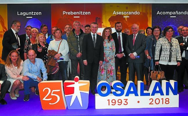 La ruptura del diálogo social y las ausencias deslucen el 25 aniversario del instituto Osalan