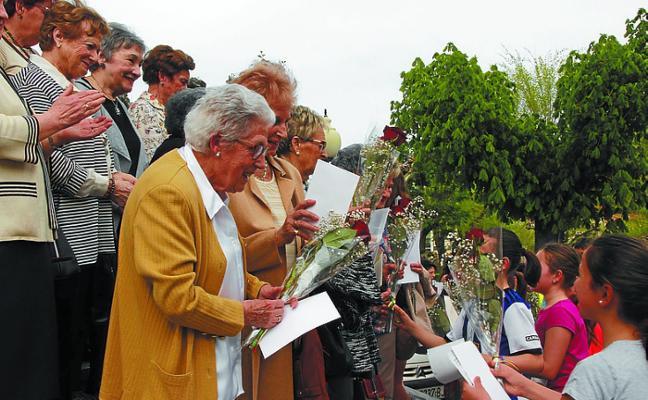 Buen ambiente en el 50 aniversario del cross Anes Arrinda