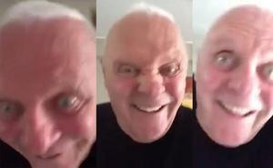 La red se pregunta qué le pasa a Anthony Hopkins