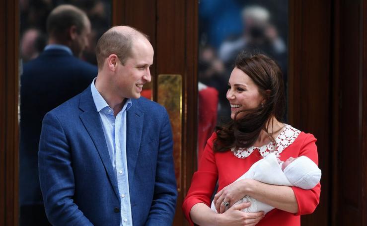 El tercer hijo de los Duques de Cambridge luce prendas donostiarras