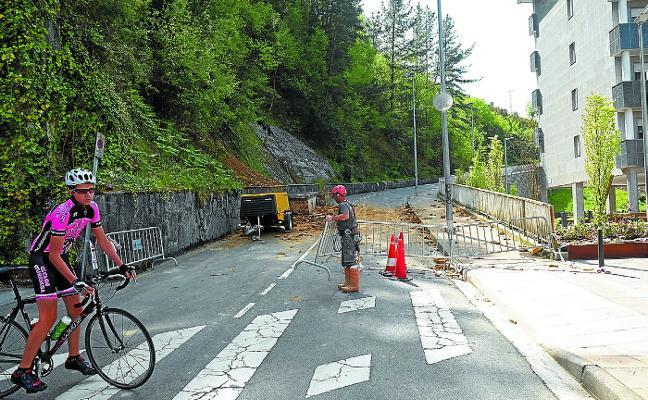 El vial que une Sansaburu y Arane se abrirá este viernes