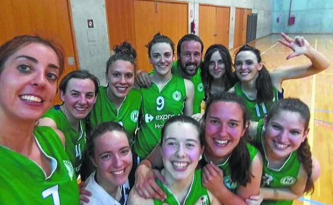 Express Ikasbasket ganó con un triple de Cristina González en el último segundo