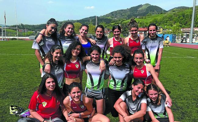 Las jóvenes promesas del atletismo, subcampeonas