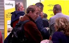 Vueling cancela hoy 122 vuelos en España por la huelga de sus pilotos