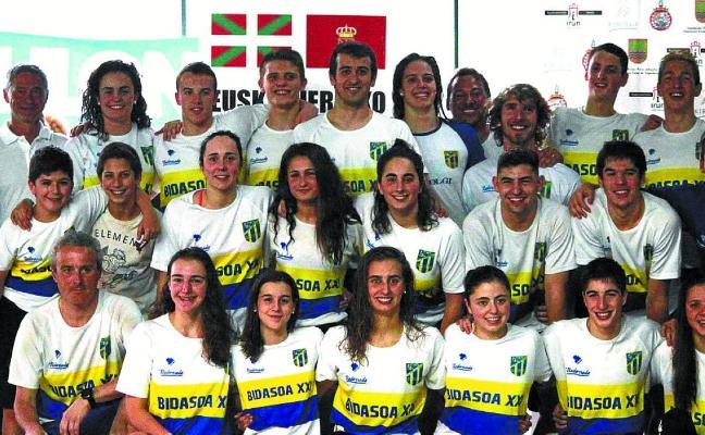 El Bidasoa XXI arrasó en el Campeonato de Euskal Herria