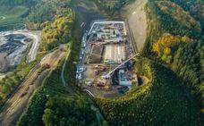 La Diputación de Gipuzkoa adelanta que las obras de la incineradora están ejecutadas al 40%