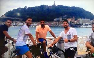 'La Manada' estuvo implicada en un robo en San Sebastián