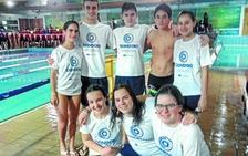 Los nadadores del Igartza-Txindoki TIM logran buenos cronos en la Liga de Primavera
