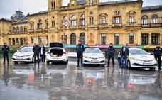 La Guardia Municipal de San Sebastián suma a su flota cuatro vehículos híbridos