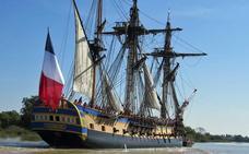 Vendidas el 70% de las entradas para visitar el barco 'L'Hermione' en Pasaia