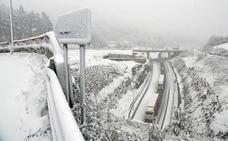 Este invierno ha sido uno de los peores para las carreteras vascas por la nieve