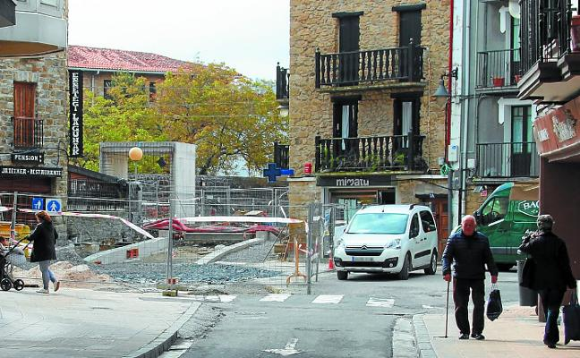 Las obras para peatonalizar Herrikobarra y San Frantzisko, en breve