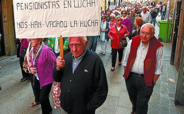 Los pensionistas intensifican sus movilizaciones
