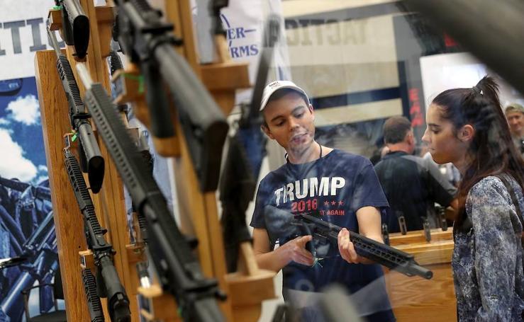 Las armas que gustan a los estadounidenses