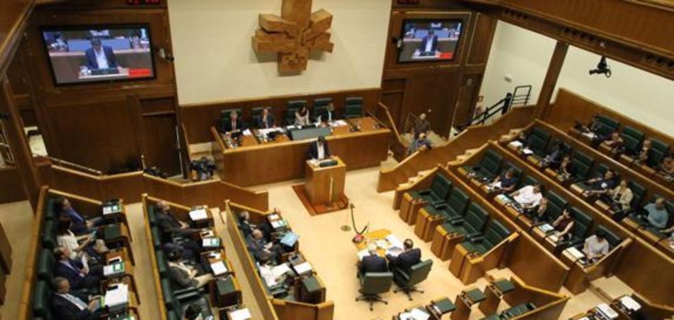 El desmarque de EH Bildu frena en el Parlamento Vasco una moción sobre el final de ETA