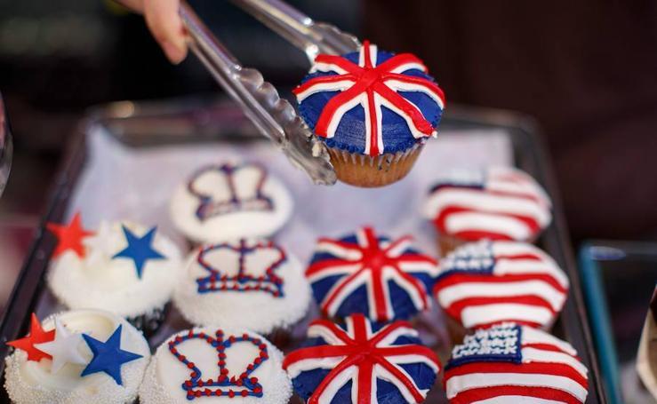 Cupcakes para celebrar la venidera unión real