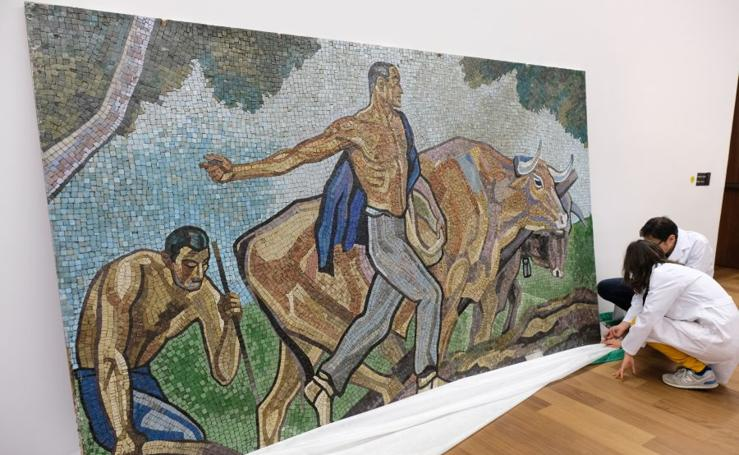'El sembrador' llega al Museo San Telmo