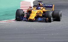 Ligero paso adelante de Alonso y salto atrás de Sainz