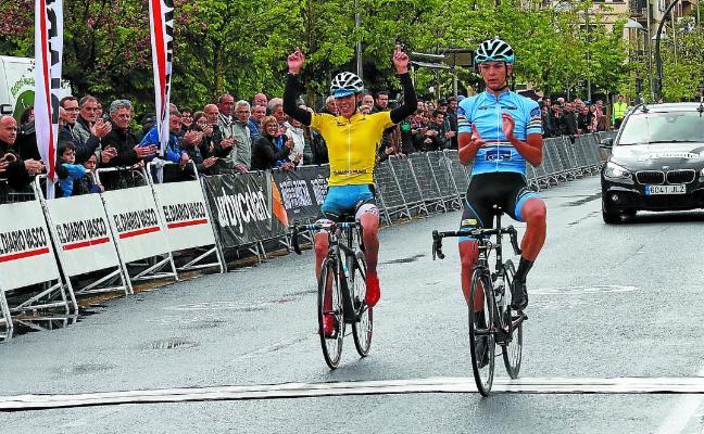 López y Covi, vaya par de ciclistas