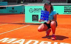 Anne Mintegui reina en el Mutua Madrid Open Sub16