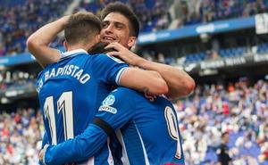 El Espanyol cierra el curso en casa con un festín ante el Málaga
