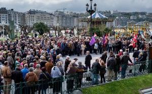 Los jubilados guipuzcoanos reclaman un sistema público vasco de pensiones