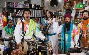 Red Baraat trae a Donostia su fusión de música india y ritmos urbanos