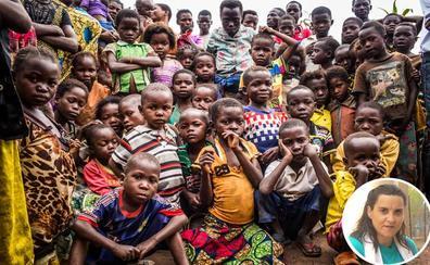«Es importante no cerrar los ojos ante hambrunas como la que está sufriendo Congo»