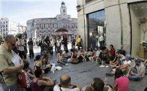 El 15-M vuelve a Sol en su séptimo aniversario con una asamblea por «las libertades»