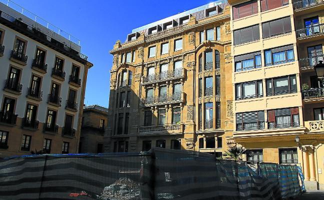 Donostia ha aprobado en tres años la creación de 840 nuevas habitaciones en hoteles