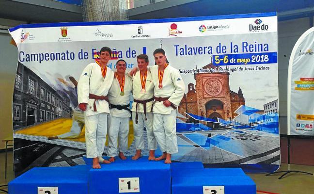 Amets Karrera logra el bronce en el campeonato de España de judo